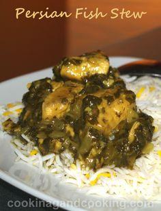 Ghalieh Mahi (Persian Fish Stew) Recipe