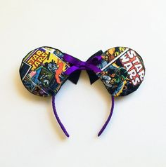 Star Wars Disney Ears Star Wars Ears Star Wars by ToNeverNeverland