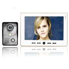 """124.36$  Watch here - http://alij40.worldwells.pw/go.php?t=32775800171 - """"Wired 10"""""""" Inch LCD Color Screen Monitor Camera Video Door Bell Phone Intercom Home Gate Entry Security Kit System for Families"""""""