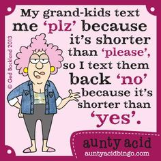 www.auntyacidbingo.com Fantastic news Aunty Acid Online Bingo is up and running with some FABULOUS FREE offers play with £15.00 absolutely FREE no deposit required - especially for our Facebook Fans!