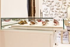 Pull out sunglass storage