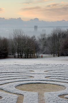 The Canterbury Labyrinth, University of Kent, England