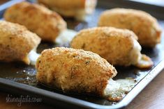 Baked Chicken Cordon Bleu - y'all!!  This cordon bleu is every bit as good (better??) as its fried counterpart.  This is flavorful, simple, and presents beautifully.