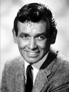 """DAVID JANSSEN (1931 - 1980) Famous for starring in """"The Fugitive"""" for its entire TV run."""