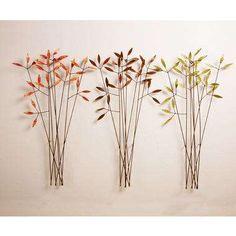 Leaves & Branches Wall Art #decor #diy trendhunter.com