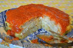 Lamboadas de Samhaim: Tortilla de sabores o Pastel de tortillas