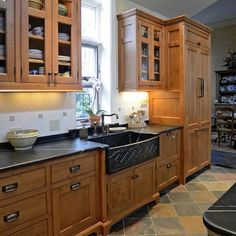 craftsman kitchen cabinets | Craftsman Style Kitchen Cabinets Design, Pictures, ... | Kitchens