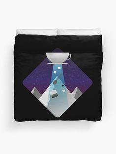 I want to BE-TEA Duvet Cover Picnic Blanket, Outdoor Blanket, Duvet Cover Design, Canvas Prints, Art Prints, Cotton Tote Bags, Duvet Covers