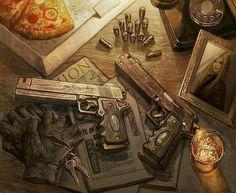 Dante's Guns