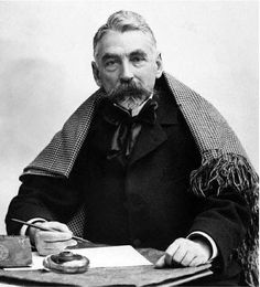 Stéphane Mallarmé (1842-1898) - French poet and critic. Photo by Félix Nadar