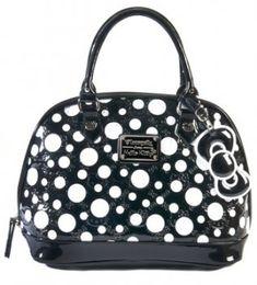 51c931050880 Hello Kitty Limited Edition Patent Embossed Polka Dot Bag-SANTB0873 Polka  Dot Bags