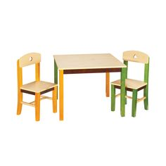 Guidecraft - See And Store Table And Chair Set