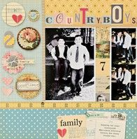 A Project by LynnGhahary from our Scrapbooking Gallery originally submitted 01/02/12 at 09:32 AM