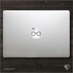 Harry Potter inspired Macbook Decal / Macbook Sticker. $4.50, via Etsy.