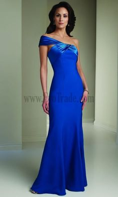 Places To Get Mother Of The Groom Dresses Satin Sleeveless One Shoulder Golden Grape Mermaid Online Wedding Party Dresses