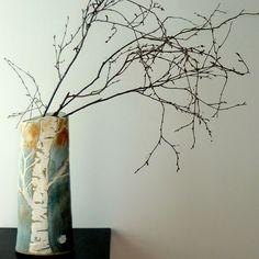 Birch Tree Vase by Maggie Zerafa www.maggiezerafa.com
