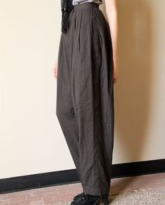 Issey Miyake Pleated Trousers  80s vintage by factoryhandbook, $275.00