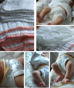 Cloth Diapering - prefolds and pull up covers