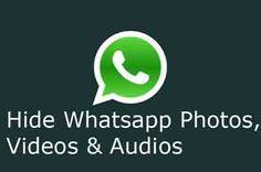 Hide WhatsApp Images