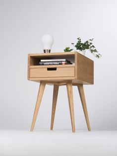 Nightstand bedside table end table small side table with