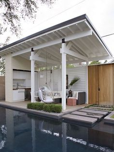 HOME-DZINE | DIY Deck - If the deck is just a place to sit and relax, select a pleasant spot where it's comfortable to spend time outdoors.