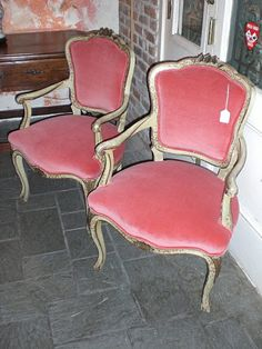 gorgeous antique chairs