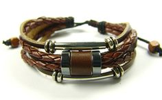 braided bracelet bangle bracelet leather bracelet mens bracelet women bracelet. $7.99, via Etsy.