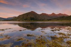 The Five Sisters of Kintail reflected over Loch Duich. Away up west for a couple…