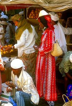 Market day, Bait al Faqih, Tihama, Yemen