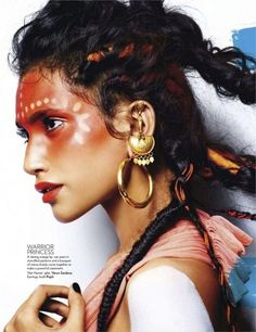 Tribal Makeup - The Beauty Thesis