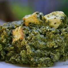 Authentic Saag Paneer - low carb - (turmeric recipe) - metabolism booster