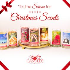 Christmas scents available!