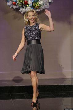 Love this dress Katherine Heigl wore on Jay Leno