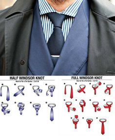 Always go with the classic windsor knot for your tie, but use the size of your head to determine whether you should go half or full windsor is part of Suits - You can't expect to look all dapper and gentlemanly without knowing Suiting 101 Nudo Windsor, Windsor Knot, Half Windsor, Sharp Dressed Man, Well Dressed, Traje A Rigor, Look Man, Retro Mode, Suit And Tie