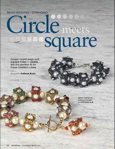 Circle meets square - 1/3 - Beading beads