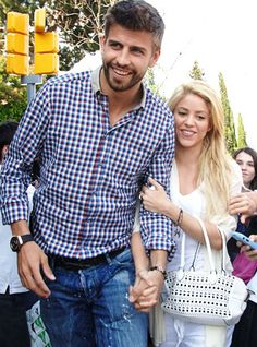 Most beautiful couple of all timeGerard Piqué & Shakira.