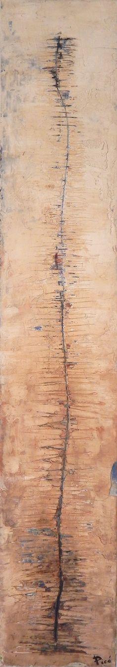 """""""Arbol de la vida"""" Mixta Sobre madera 20 x 1,22 cm 2015"""