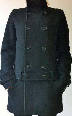 Manteau caban noir Comptoir des cotonniers 80% laine / Noir / 38 (M, T2) FR / Laine / POSSAN IV / Automne - Hiver