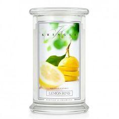 Kringle Candle Large 2 Wick Jar 22 oz - Lemon Rind