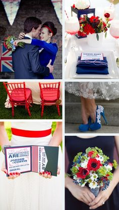 Red,-white-&-blue-wedding-inspiration and ideas