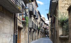 Laguardia Spain, walled city walking town in the Rioja region