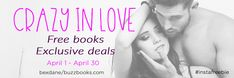 Call for Romance Authors! You're invited to join my Crazy in Love Romance Giveaway in April. Reach tons of new readers! List your freebie or book deal. Grow your mailing list. Sign up here: https://bexdane.com/submissions/ Type: All romance, no erotica Cost: Free Minimum mailing list size: 500