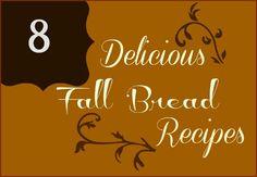 8 Delicious Fall Bread Recipes :: HoosierHomemade.com