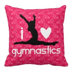I Heart Gymnastics Floral Pillow online after you search a lot for where to buyDiscount Dealslowest price Fast Shipping and save your money Now! Gymnastics Bedroom, Gymnastics Girls, Olympic Gymnastics, Gymnastics Stuff, Gymnastics Training, Elite Gymnastics, Gymnastics Videos, Gymnastics Outfits, Gymnastics Pictures