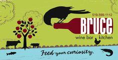 Bruce Wine Bar - Thornbury, Ontario Blue Mountain, Fine Dining, Ontario, Restaurants, Cottage, Community, Wine, Spaces, Bar