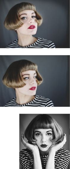 The post appeared first on Aktuelle. Short Bobs With Bangs, Bob Haircut With Bangs, Short Hair Styles, Haircut Style, Short Bob Hairstyles, Bun Hairstyles, Bob Haircuts, Art Of Beauty, Hair Beauty