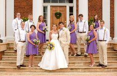 wedding bridal party pose