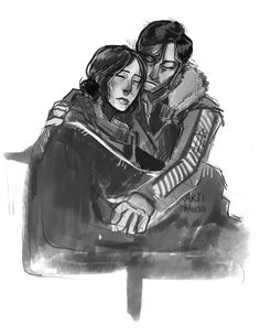 Also gonna cry a lot over these two being absolutely precious and putting each other first even if it means betraying the creed DONT TOUCH ME IM NOT OKAY