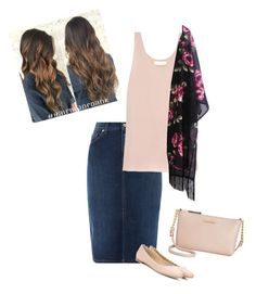 """""""Pink + Floral"""" by ohraee019 on Polyvore featuring GANT, Chloé and Calvin Klein"""