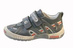 GASPAR Fashion Sneaker (Toddler/Little Kid/Big Kid) Navy leather Gaspar. $51.00